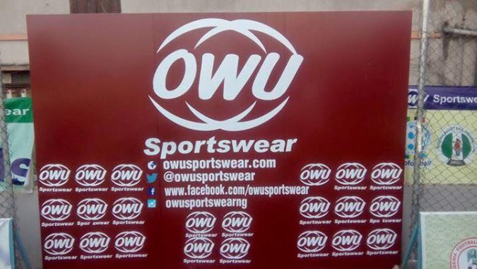 OWU TO KIT PLAYERS FOR VICTOR EZEJI TESTIMONIAL