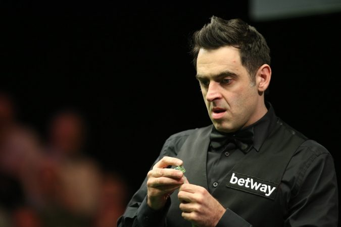 Ronnie O'Sullivan is in the semi-finals at the Barbican.