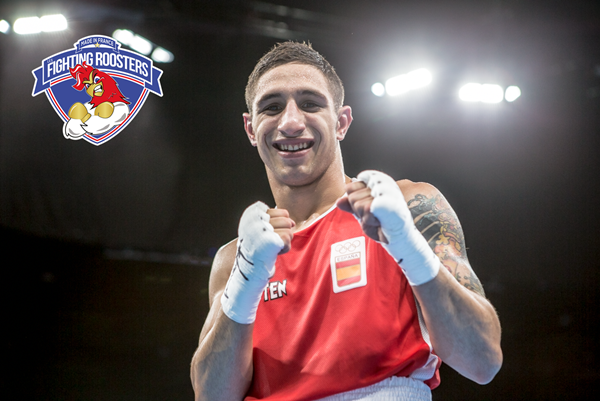 Spanish Light Flyweight (49kg) Samuel Carmona Photo courtesy; AIBA/WSB Photo courtesy; AIBA/WSB