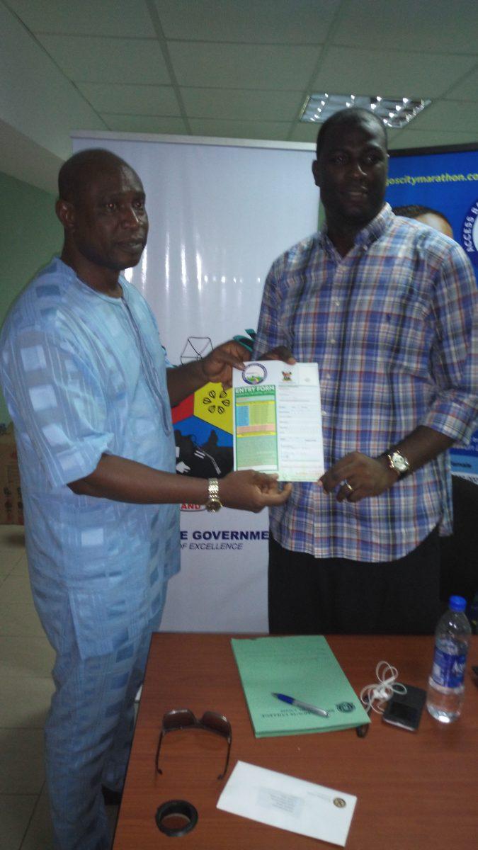 Access Bank Lagos City Marathon, Akinwunmi Ambode, Olumide Oyedeji, Olumide Oyedeji Foundation,