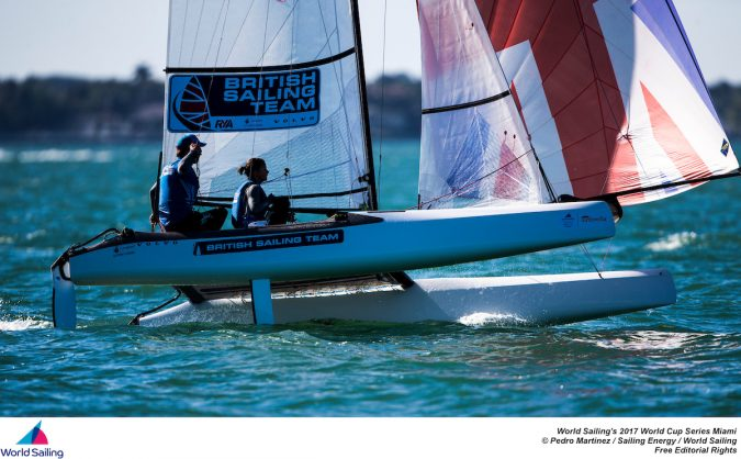 The first stop of World Sailing's 2017 World Cup Series will see over 450 competitors race across the ten Olympic classes from Regatta Park at Coconut Grove, Miami.  @Pedro Martinez / Sailing Energy / World Sailing