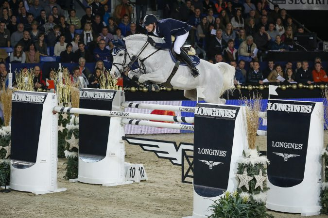 Germany's Daniel Deusser jumps to the top of the Longines rankings (FEI/Dirk Caremans)o: Dirk Caremans/FEI