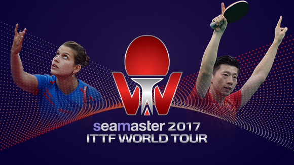 Welcome Seamaster to the 2017 ITTF World Tour! photo credit; ITTF
