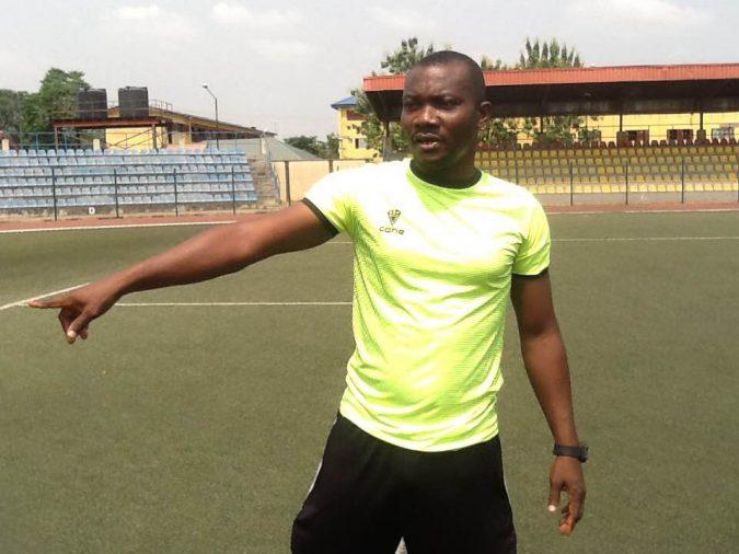 MFM FC's assistant coach Alli Suleman Obinna