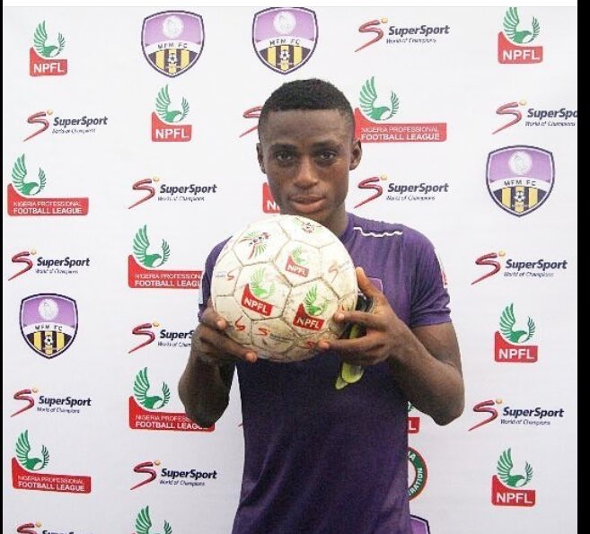 Stephen Odey With Match Ball