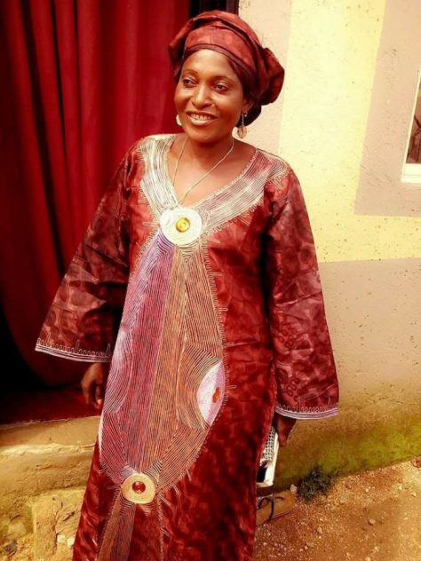 The Late Mrs Briskila Dalung wife of the Honourable Minister of youths and sports Solomon Dalung,