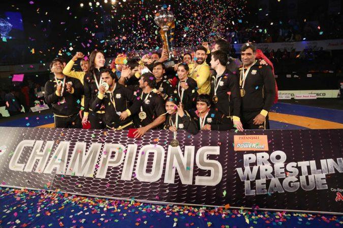Punjab Lifts Wrestling League credit: Pro Wrestling League