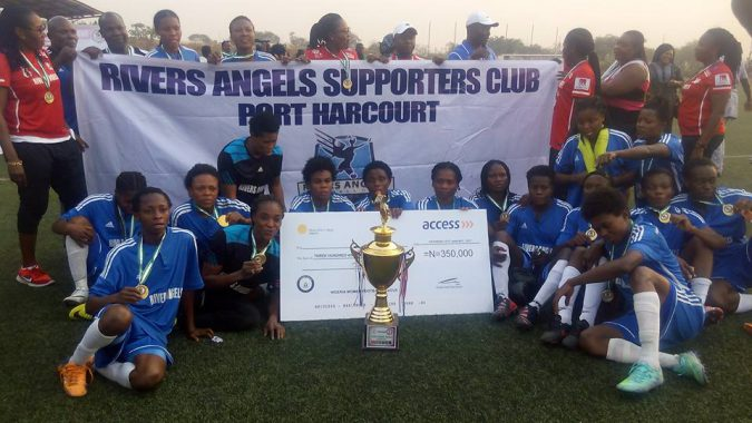 Rivers Angels Port Harcourt crowned NWFL 2015/2016 champions