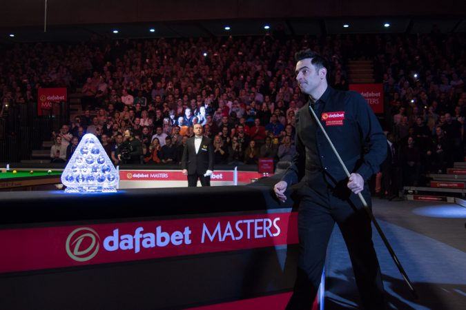Ronnie O'Sullivan is defending the title this year