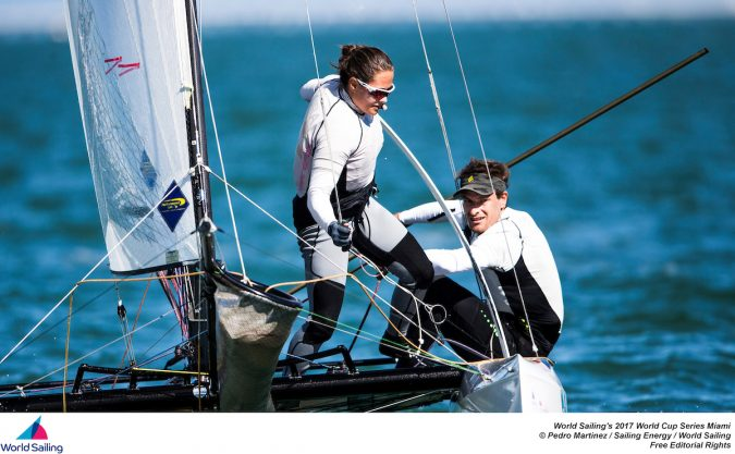 The first stop of World Sailing's 2017 World Cup Series will see over 450 competitors race across the ten Olympic classes from Regatta Park at Coconut Grove,  @Pedro Martinez / Sailing Energy / World Sailing