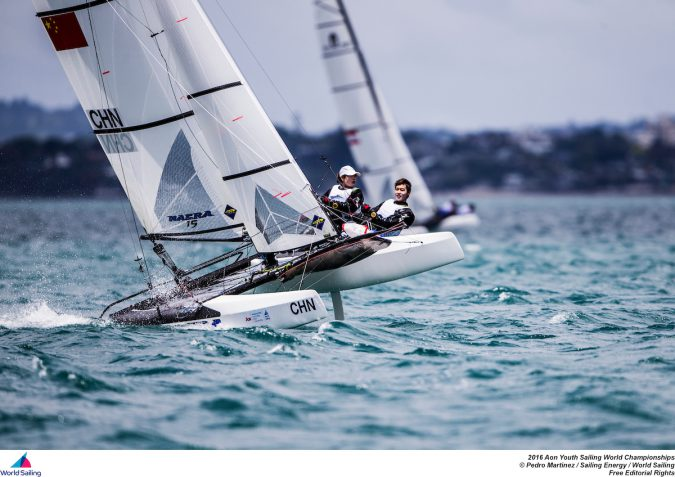 Aon Youth Sailing World Championships, the 46th edition,