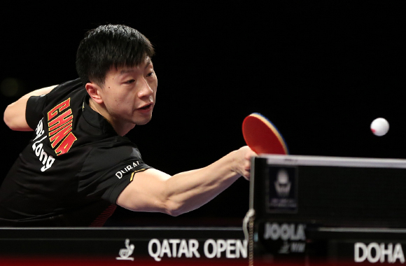 Grand Slam Champion Ma Long defends Men's Singles crown in Doha, Qatar.