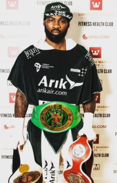 ABU Africa Champion Larry Ekundayo