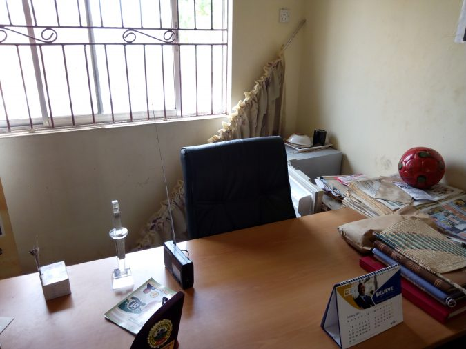 Burglars Attack ABS FC Office