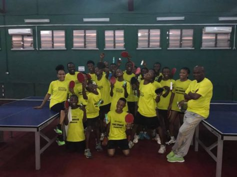 Olufunke Oshonaike during the first day of the clinic on Monday February 27 in Lagos...