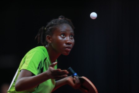 Tosin Esther Oribamise (NGR) is one of the players aiming for a spot at the 2018 Youth Olympic Games