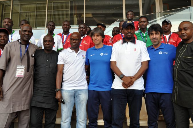 npfl-youth-league-2-nigeria-professional-football-league-npfl-youth-team-coaches-clinic-league-management-company-shehu-dikko-mutiu-adepoju