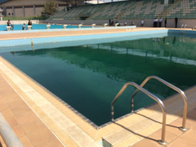 Sports Minister Decries Deplorable State Of Abuja Swimming Pool Newfanzoneblog