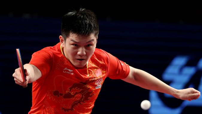 China S Fan Zhendong Takes World Table Tennis Number One