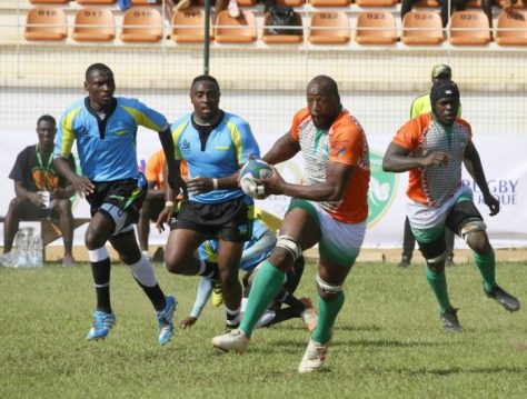 Bakary Meité of Côte D'Ivoire, Rugby Africa Cup 2020