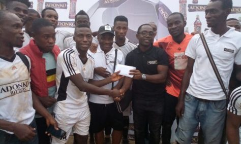 Recovery FC Are Champions of Adonko Festac Football Tournament