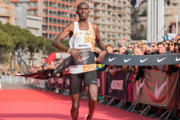 Joshua Cheptegei, World Half Marathon Championships Gdynia, IAAF, © Etienne Fiacre